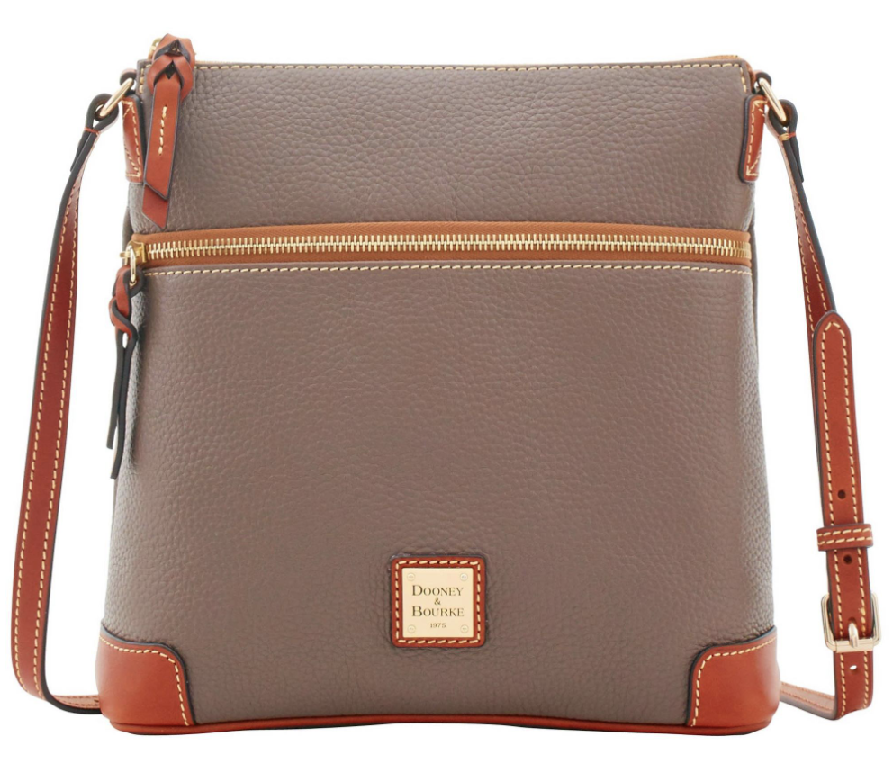 Dooney & Burke Pebble Grain Crossbody - via dooney.com
