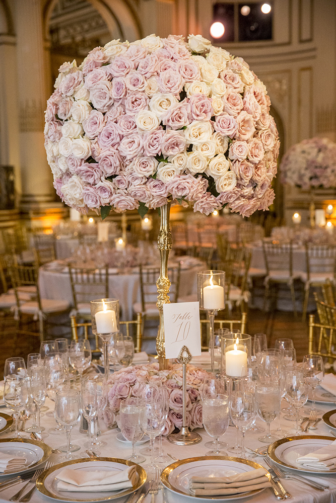 High Centerpiece - Plaza Hotel - by Aaron Delency