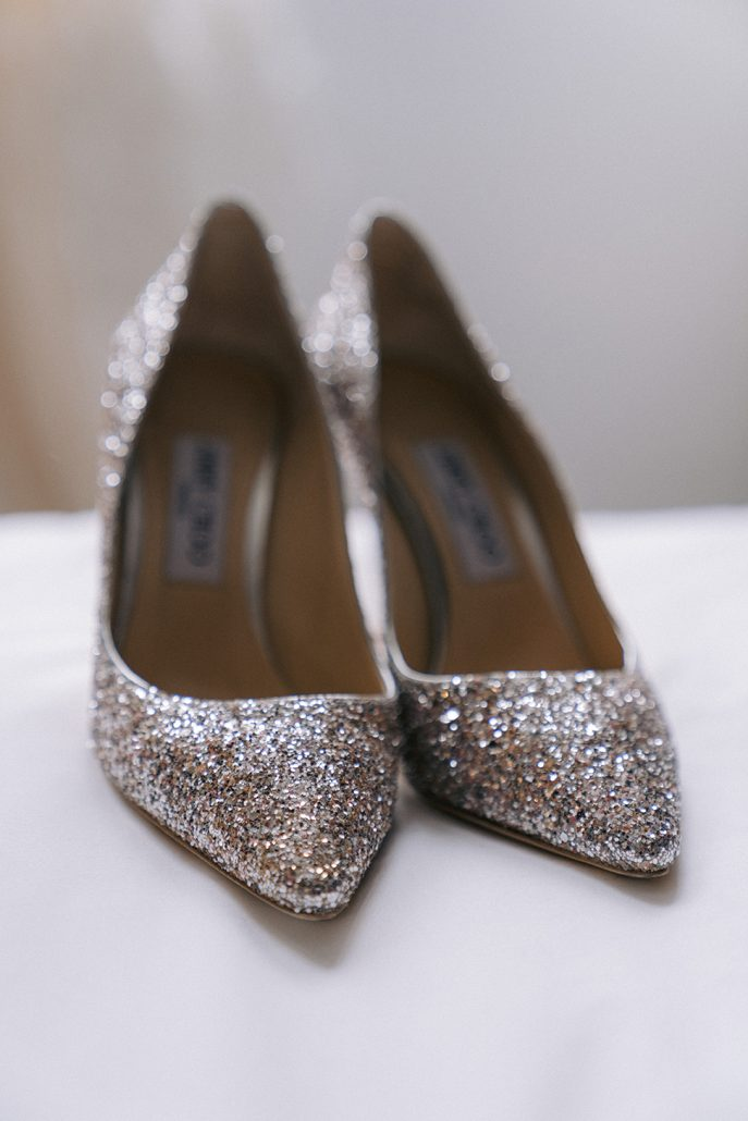 Nicole and Matt Wedding - Brides Shoes Jimmy Choo - Houston Hall - Jaylim Studio