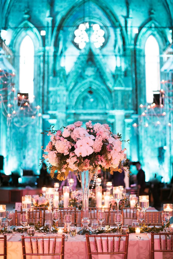 Talya and Adam Wedding - High Centerpiece - Angel Orensanz Foundation - Erika Delgado Photography