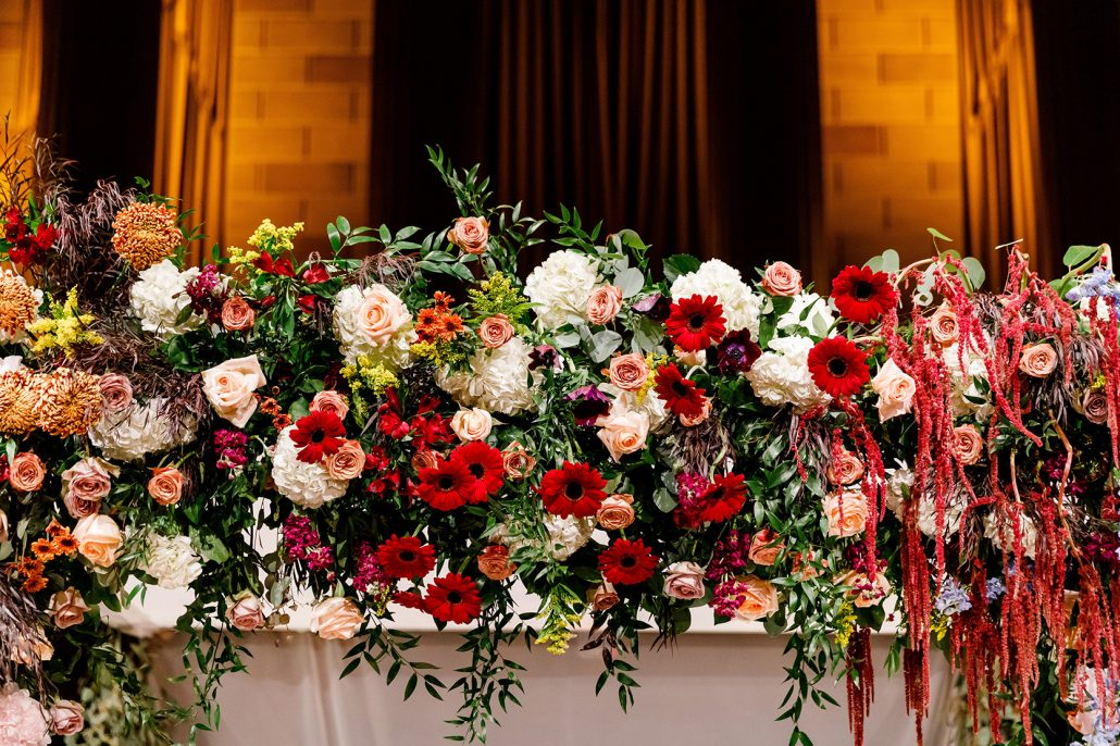 Stefanie and Mike Wedding - Chuppah Detail - Gotham Hall - Emma Cleary Photography