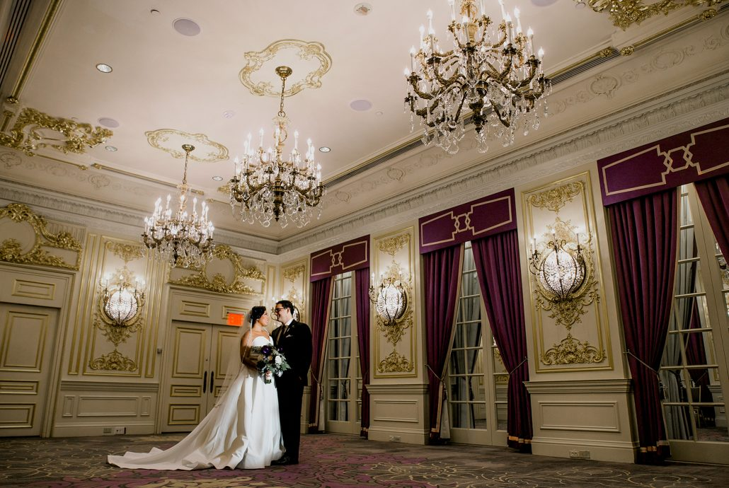 Jenna & David Wedding - Bride Groom - St. Regis - Jason Thomas Crocker Photography
