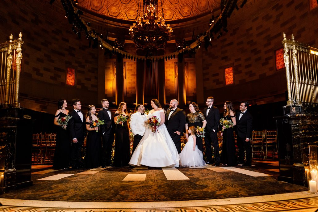 Stefanie and Mike Wedding - Wedding Party - Gotham Hall - Emma Cleary Photography