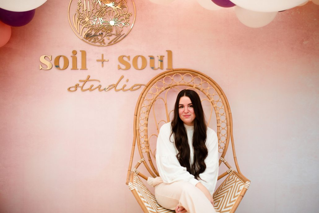 Natalie LaRosa - Founder of Soil + Soul - photo courtesy of artist