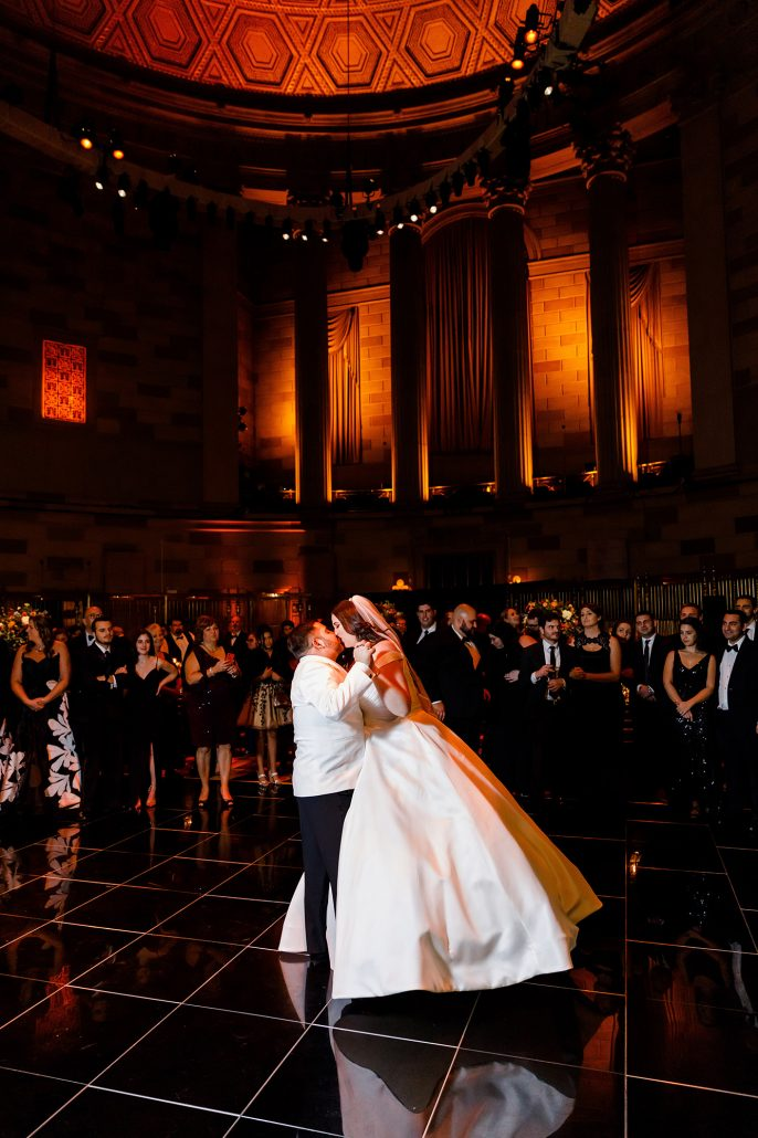 Stefanie and Mike Wedding - First Dance - Gotham Hall - Emma Cleary Photography