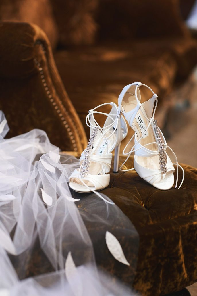 Laura and Charlie Wedding - Brides Shoes - Cipriani - Christian Oth Studio