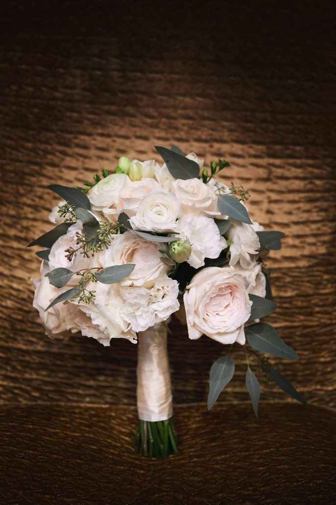 Laura and Charlie Wedding - Brides Bouquet - Cipriani - Christian Oth Studio