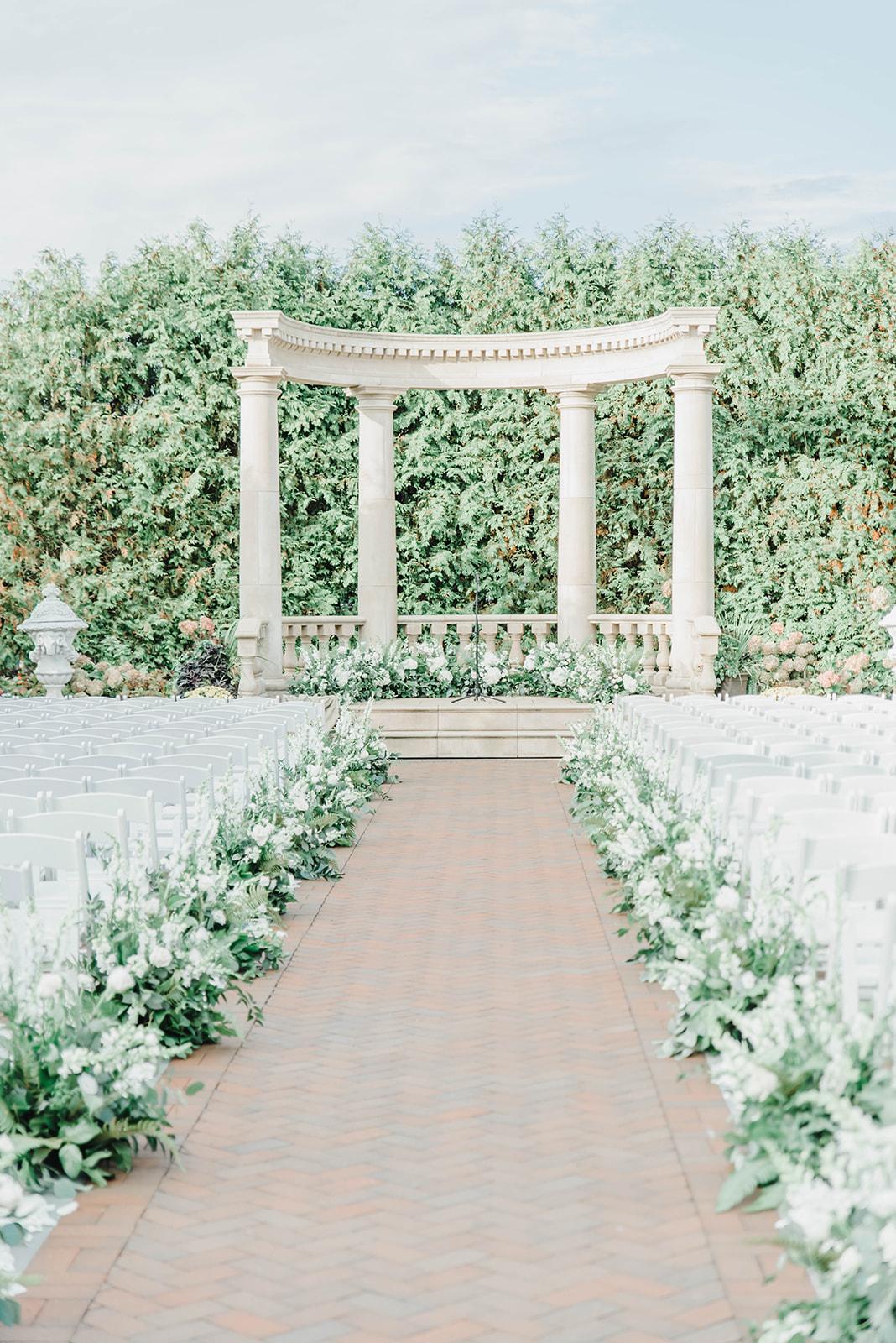 Gorgeous Living Wedding Aisle Decor Ideas  by Bride & Blossom