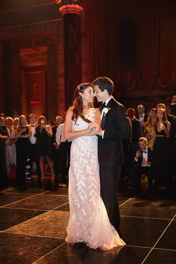 Laura and Charlie Wedding - First Dance - Cipriani - Christian Oth Studio