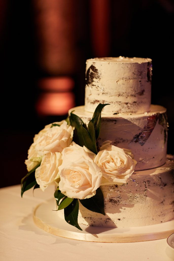 Laura and Charlie Wedding - Wedding Cake - Cipriani - Christian Oth Studio