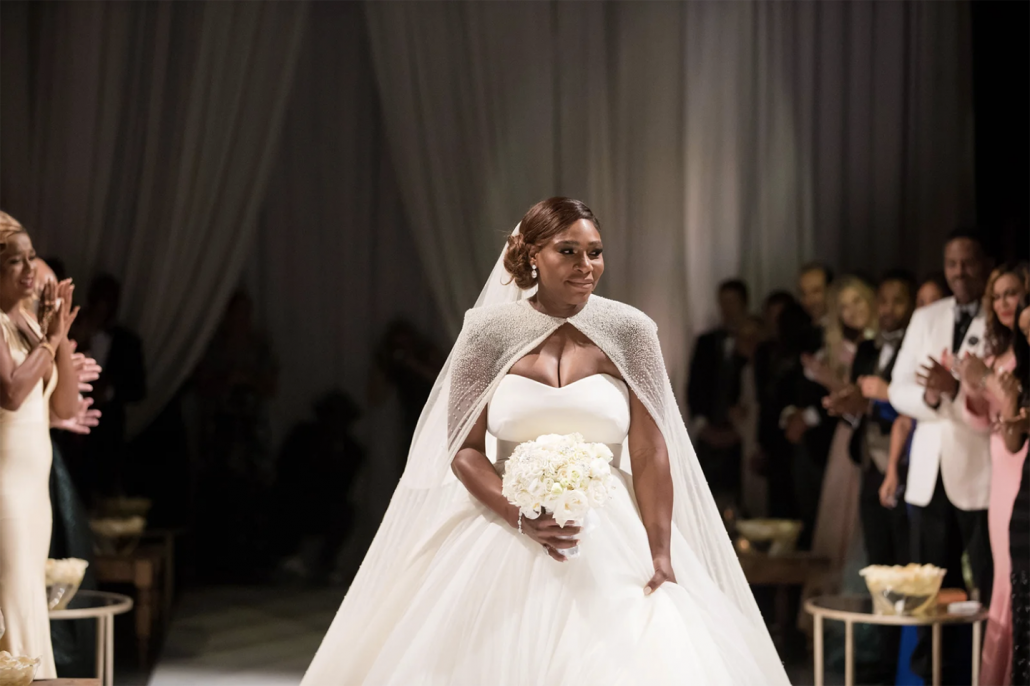 Serena Williams Wedding Bouquet - via vogue.com