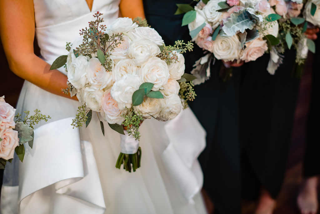 Rebecca and Nelson Wedding - Brides Bouquet - Tribeca Rooftop - Jason Thomas Crocker Photography
