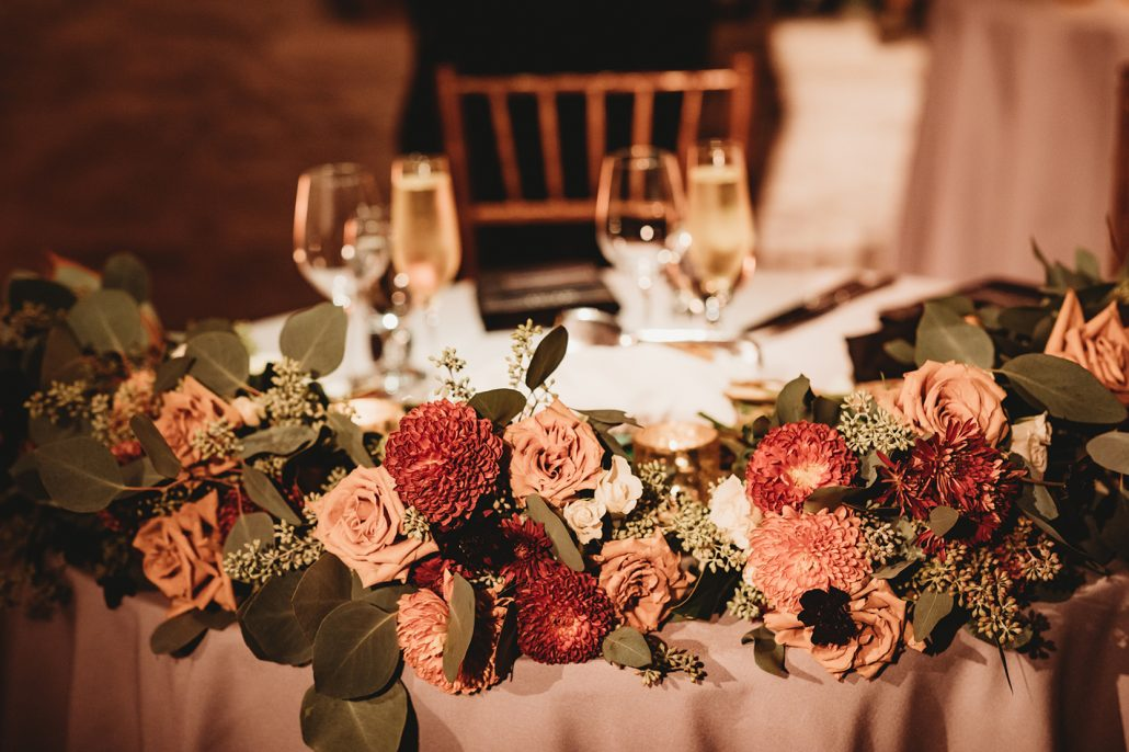 Katie and Kara Wedding - Sweetheart Table - New York Botanical Garden - Mallory Williams Photography