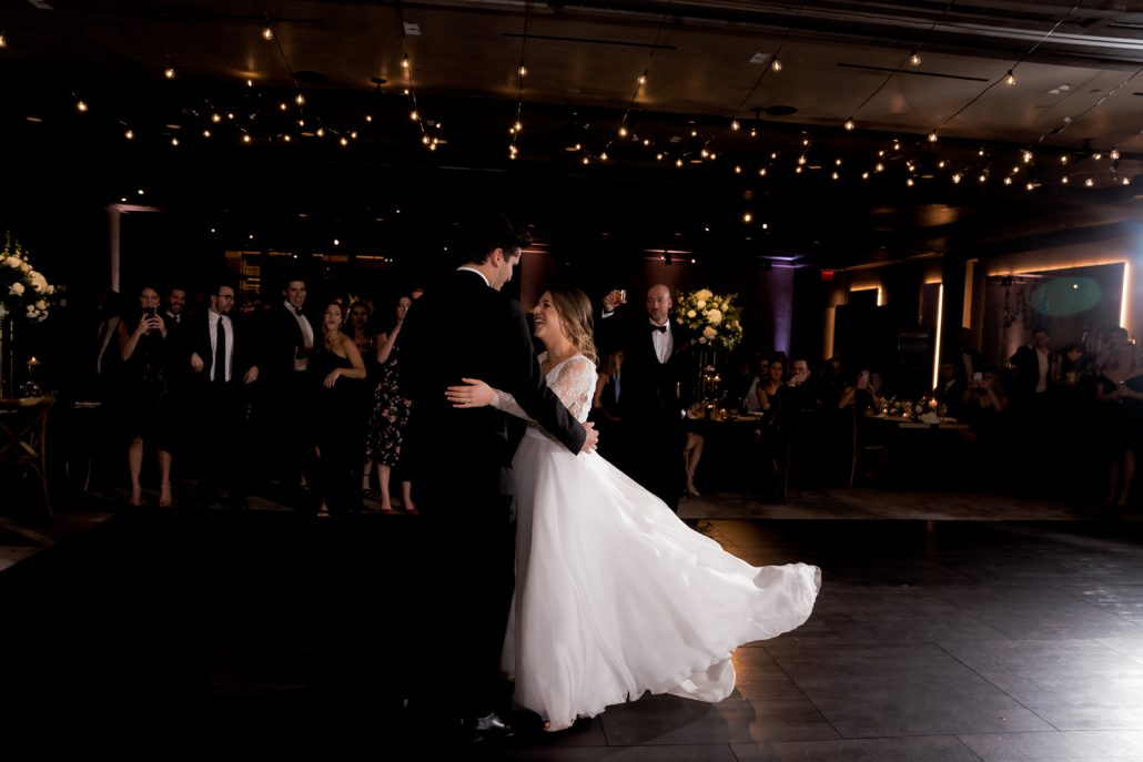 Emily and Felix Wedding - First Dance - 1 Hotel Brooklyn Bridge - Susan Shek Photography