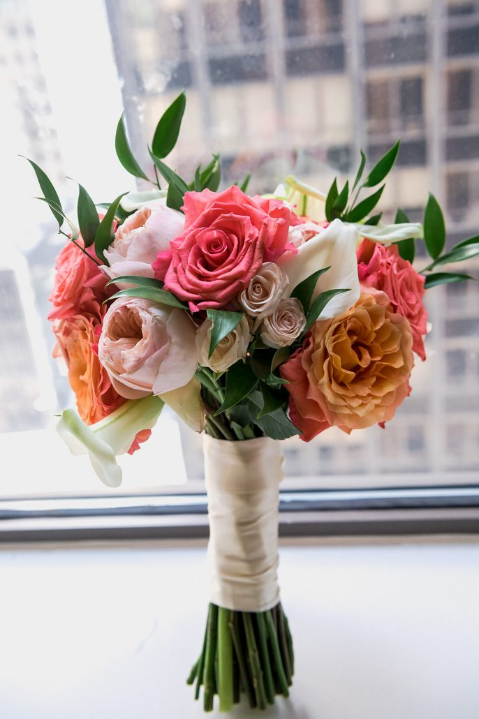 Kate & Alex Wedding - Bridal Bouquet - Battery Gardens - Susan Shek Photography