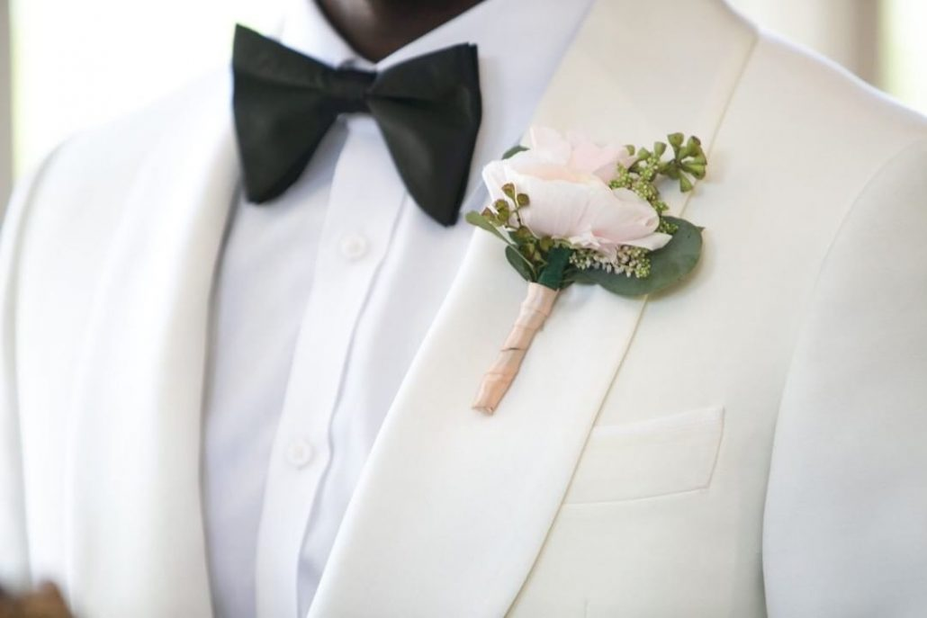 Fanta and Darwin Wedding - Grooms Boutonniere - Stonebridge Country Club - Belluci Films