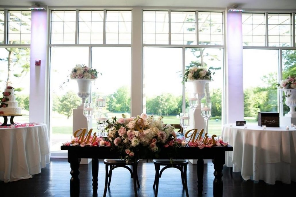 Fanta and Darwin Wedding - Sweetheart Table - Stonebridge Country Club - Belluci Films