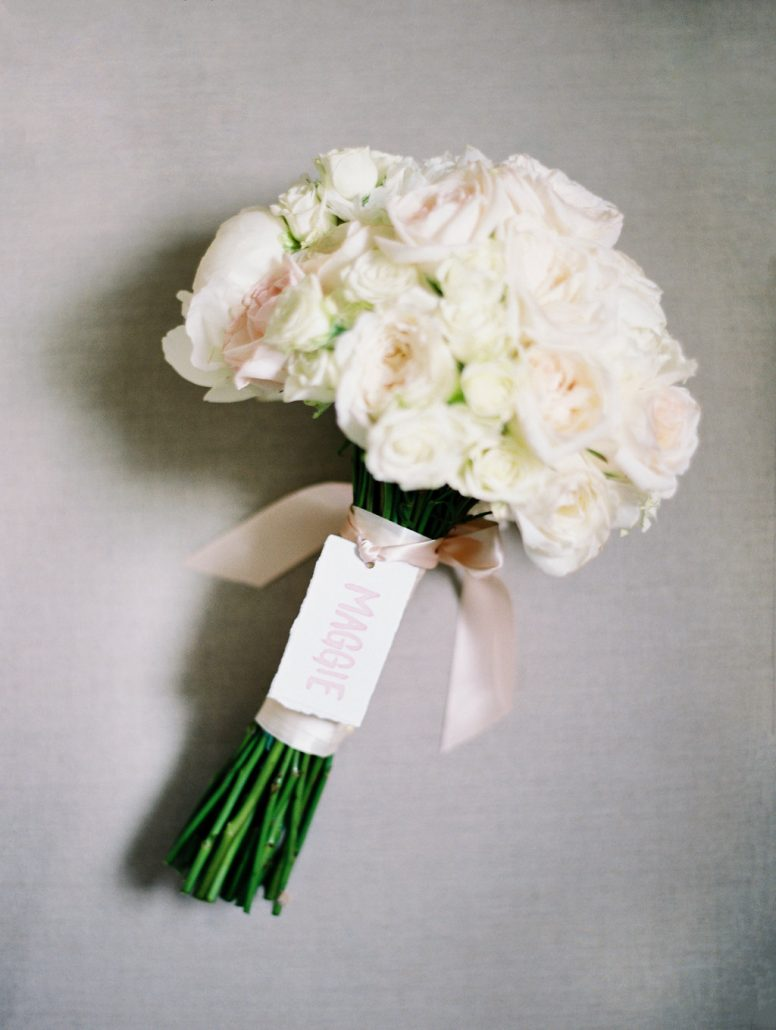 Maggie & Richard Wedding - Bouquet - Castle Hotel Tarrytown - by Sophie Kaye
