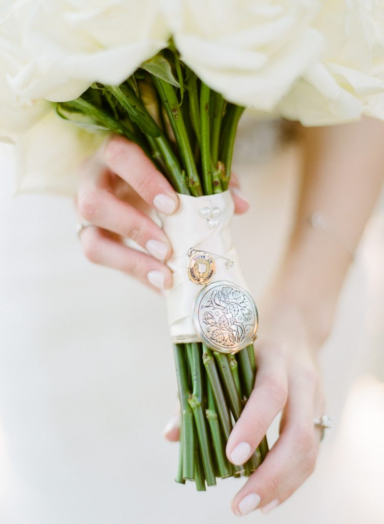 Jessica & Brian Wedding - Bridal Bouquet Keepsakes - Battery Gardens NYC - Rebecca Yale Photography
