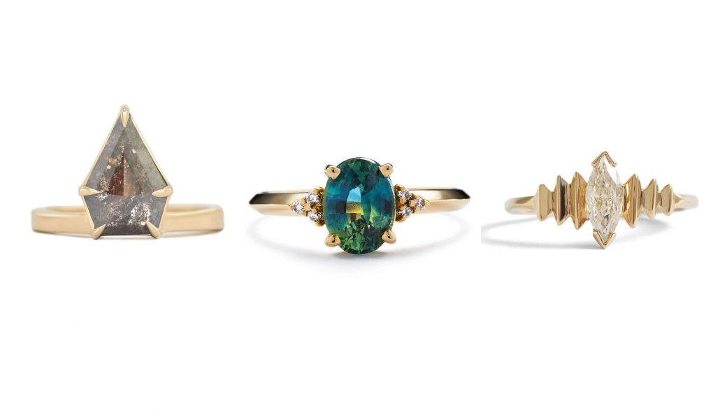 Alternative Engagement Rings - Ra Metals Causal Séance Olivia Michaels Jewelry