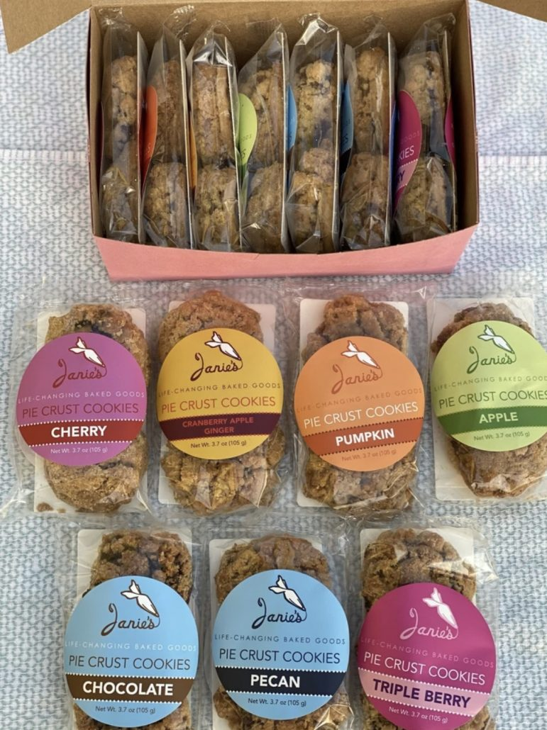 Janie's Life-Changing Baked Goods - Pie Crust Cookie Sampler Box - janiebakes.com