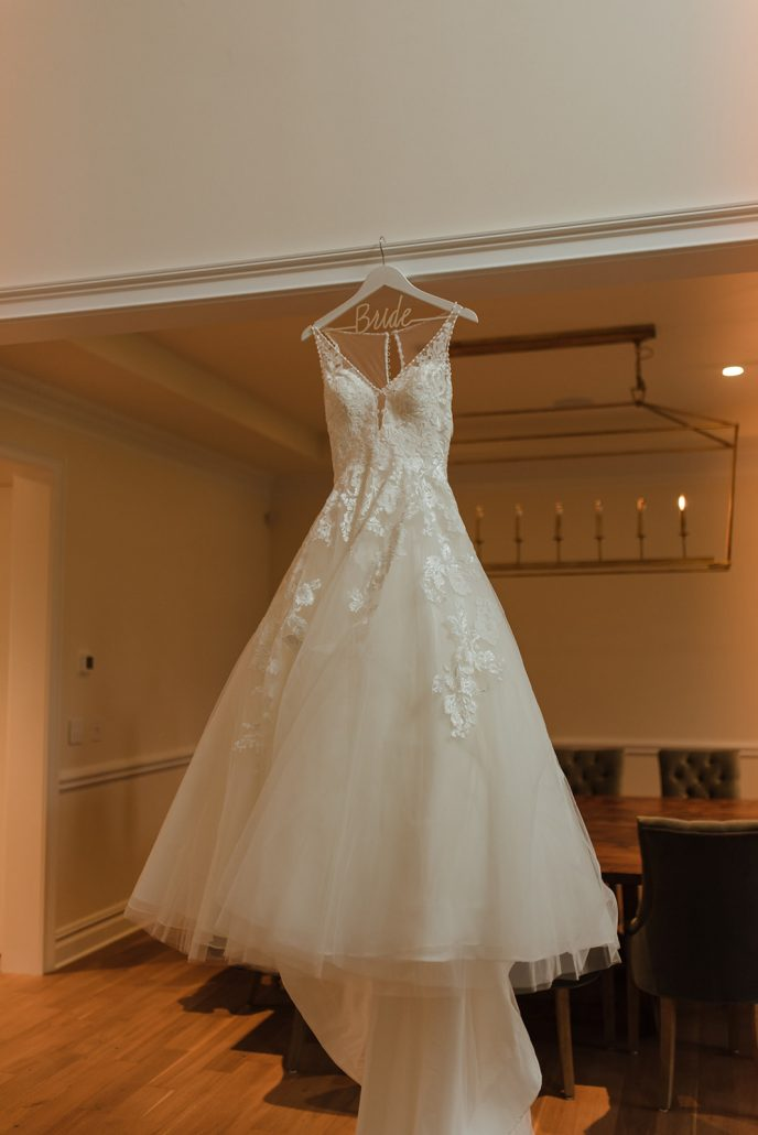 Cara and Vince Wedding - Brides Wedding Dress - Laura Huertas Photography