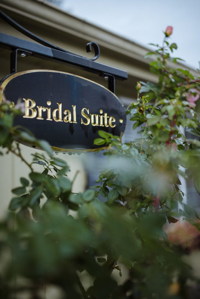 Laura and Vince Wedding - Bridal Suite Sign - Laura Huertas Photography