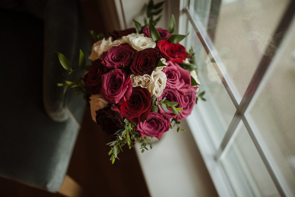 Cara and Vince Wedding - Brides Bouquet - Laura Huertas Photography