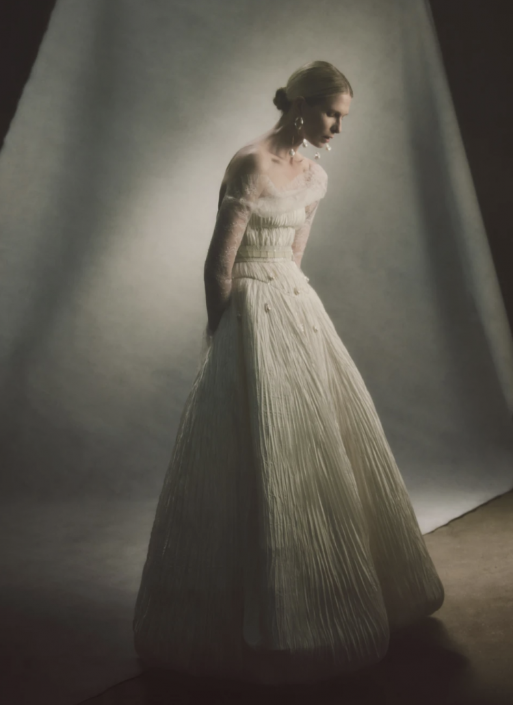 Bridal Designer - Danielle Frankel Wedding Dress - via daniellefrankelstudio.com