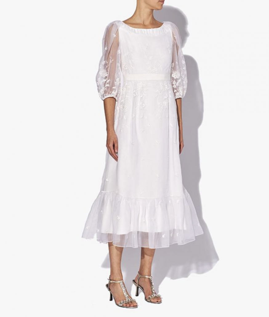 Bridal Designer - Erdem Wedding Dress - via erdem.com