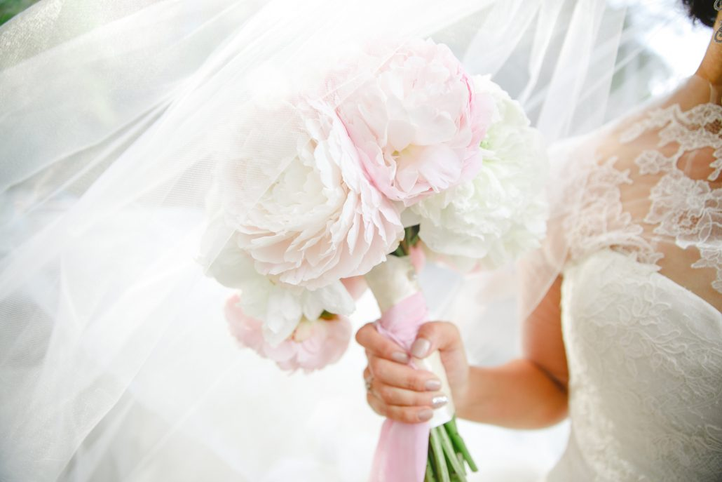 Mary and Galen Wedding - Blush and White Peony Bouquet - The Hudson Hotel NYC - Jacquelyne Pierson Weddings
